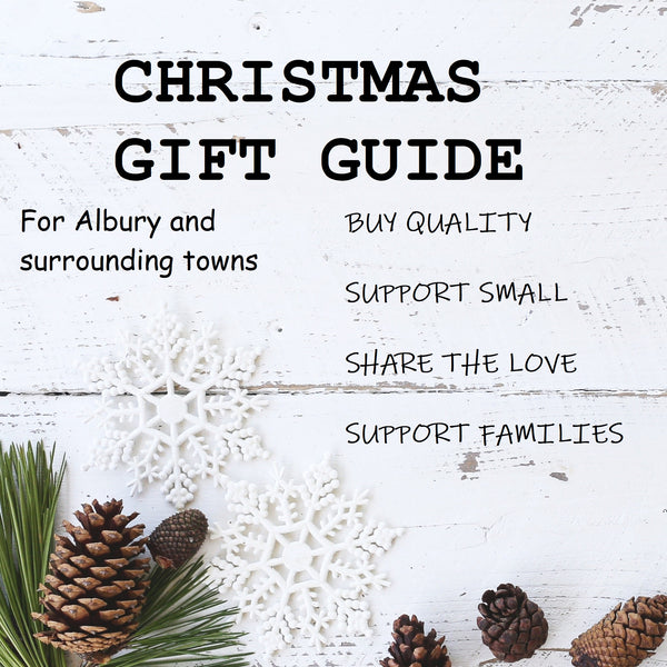Sit back, relax and support local small businesses! Christmas Gift Guide for Albury, Wodonga and surrounds