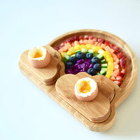 eco friendly bamboo all natural plates bowls emondo kids