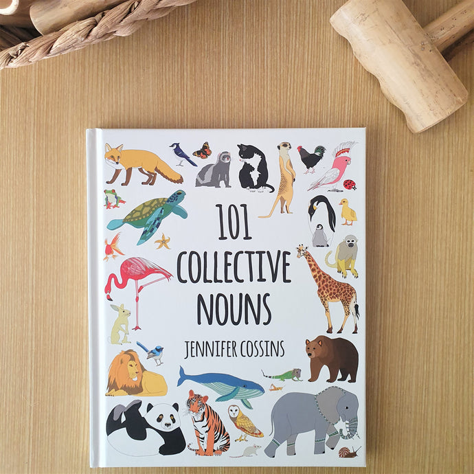 101 Collective Nouns by Jennifer Cossins - Hardcover