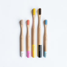 Load image into Gallery viewer, Bamboo Toothbrush - Adult single
