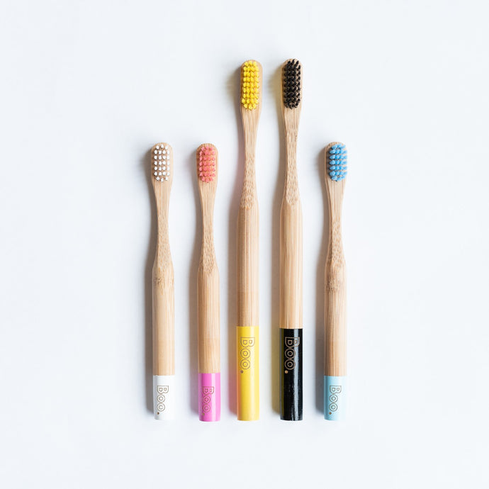 Bamboo Toothbrush - Adult single