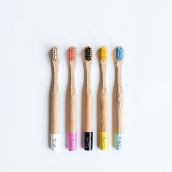 Bamboo Toothbrush - Child single