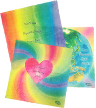 Load image into Gallery viewer, Bees Wax Wraps- 2 pack Affirmation Messages