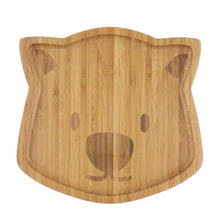 Load image into Gallery viewer, Wombat Bamboo Plate- Waldo