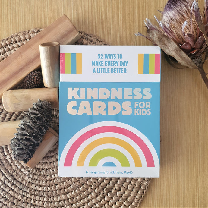 Kindness Cards for Kids, 52 ways to make everyday better