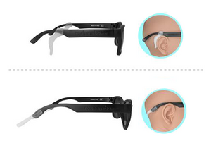 Sunglasses ear adjusters