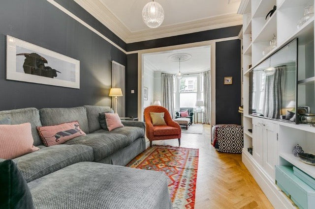 London Family Home Reception Room