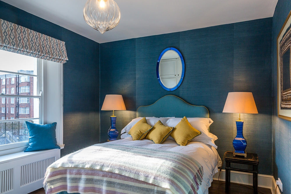 OffbeatInteriors Blue Bedroom