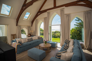 Offbeat Interiors - Restored Chapel Cornwall