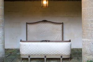Offbeat Interiors - Nineteenth Century French Louis Philippe Upholstered Bed