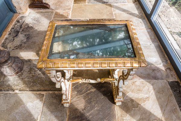 Nineteenth Century Gilt Wood Table