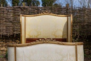 Louis XV Style Gilt Wood Bed