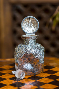 Victorian Glass Scent Bottle