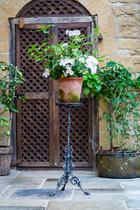 Offbeat Interiors - A Nineteenth Century Cast Iron Jardiniere Stand