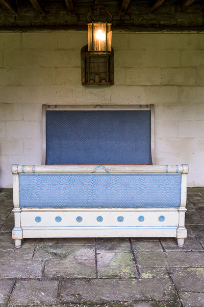 Nineteenth Century French Painted Bed - footboard view