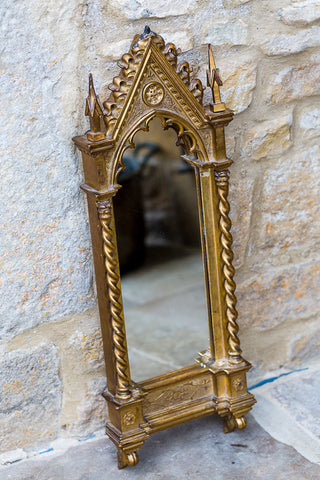 Offbeat Interiors - Nineteenth Century Gilt Carved Wood Mirror