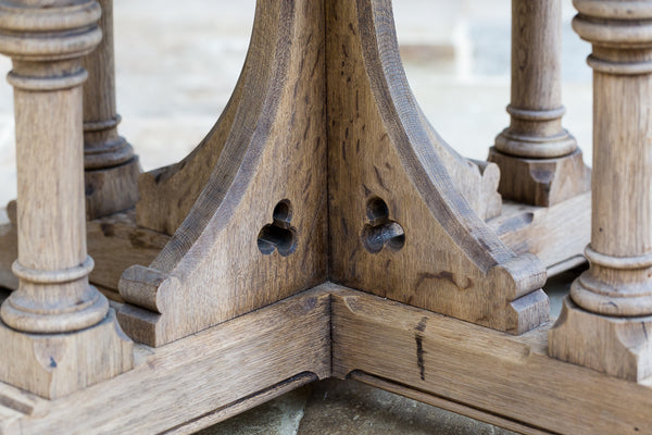 Pugin table base detail