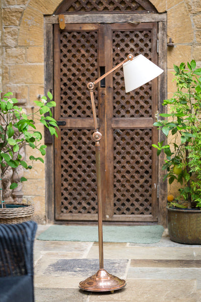 Offbeat Interiors - Copper Floor Standard Lamp