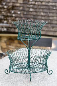 Offbeat Interiors - Nineteenth Century Oval Wirework Plant Stand