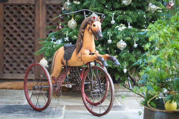 Offbeat Interiors - Victorian Child's Horse Tricycle