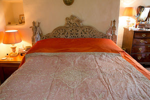 Offbeat Interiors - Indian bed spread
