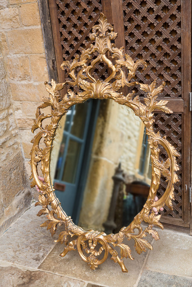 Offbeat Interiors - Florentine Style Gilt Framed Mirror