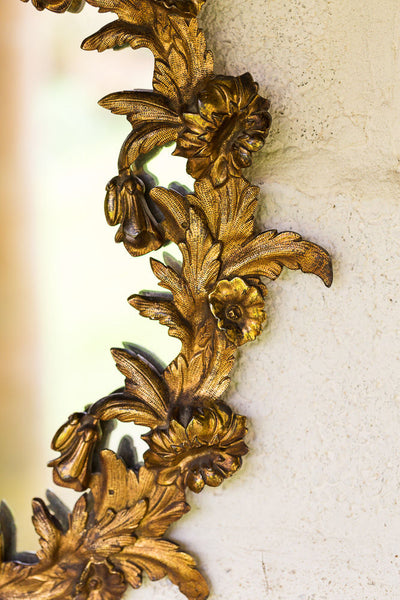 Offbeat Interiors - Gilt Bronze Mirror