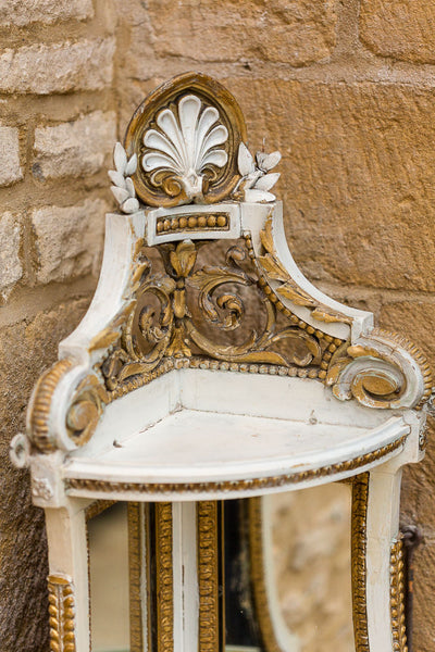 Offbeat Interiors - Offbeat Interiors - A Napoleon III Giltwood Corner Shelf
