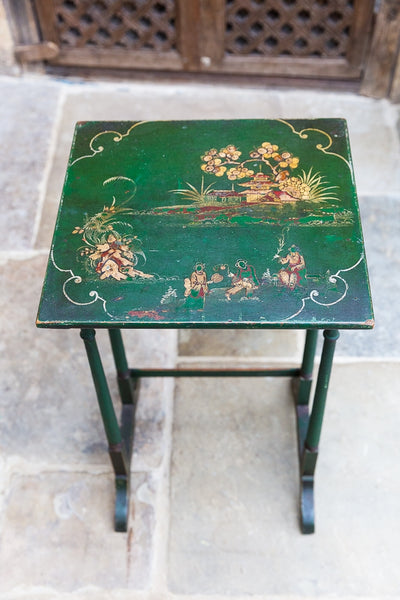 Offbeat Interiors - A Nest of Three Japanned Occasional Tables