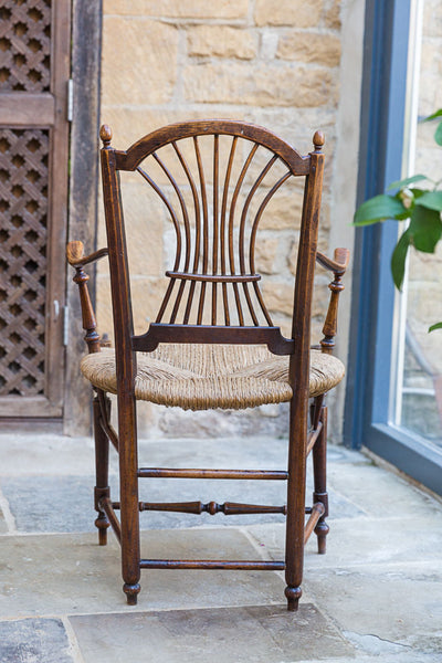Offbeat Interiors - Early Twentieth Century Small Ash and Elm Armchair