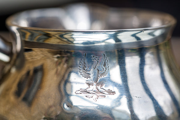 Offbeat Interiors - George III Silver Brandy Warmer