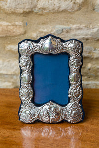 Offbeat Interiors - Edwardian Style Silver Photo Frame
