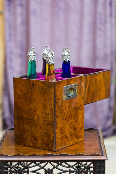 Offbeat Interiors - Victorian English Walnut Decanter Box