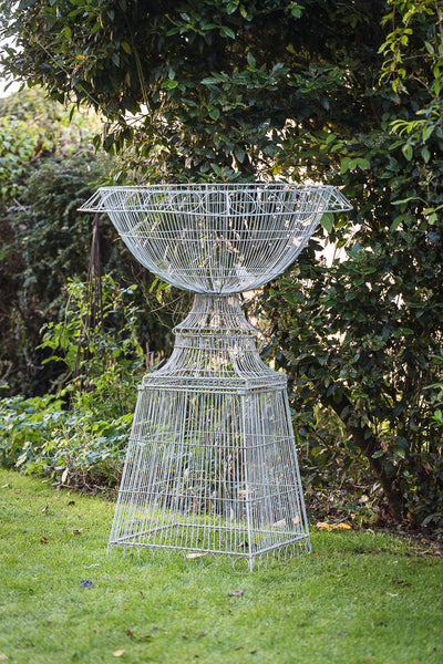 Offbeat Interiors - Large Wirework Urn