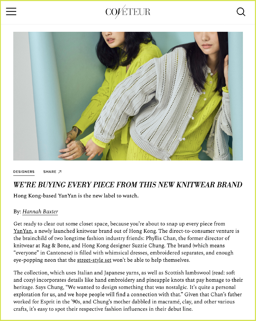https://coveteur.com/2019/04/03/knitwear-brand-yanyan-launches-first-collection/