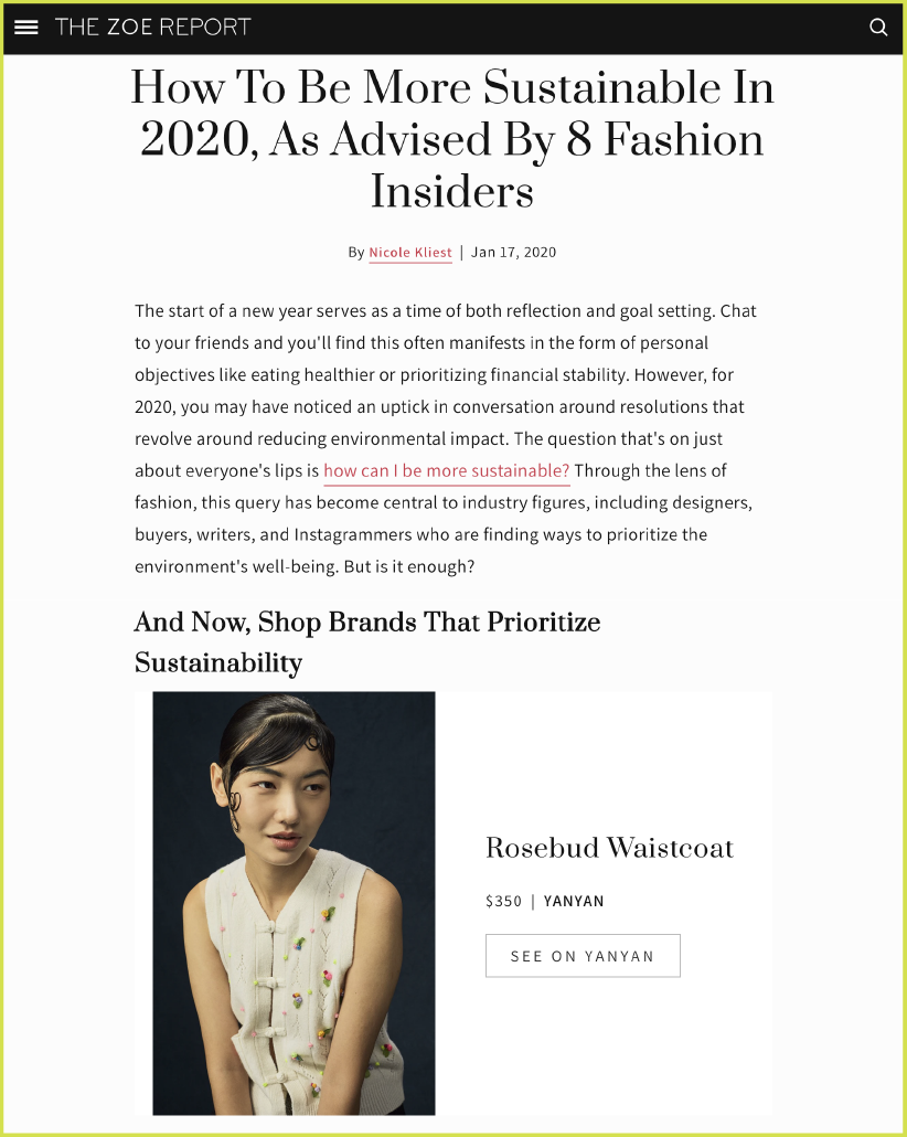 https://www.thezoereport.com/p/how-to-be-more-sustainable-in-2020-as-advised-by-8-fashion-insiders-21095567