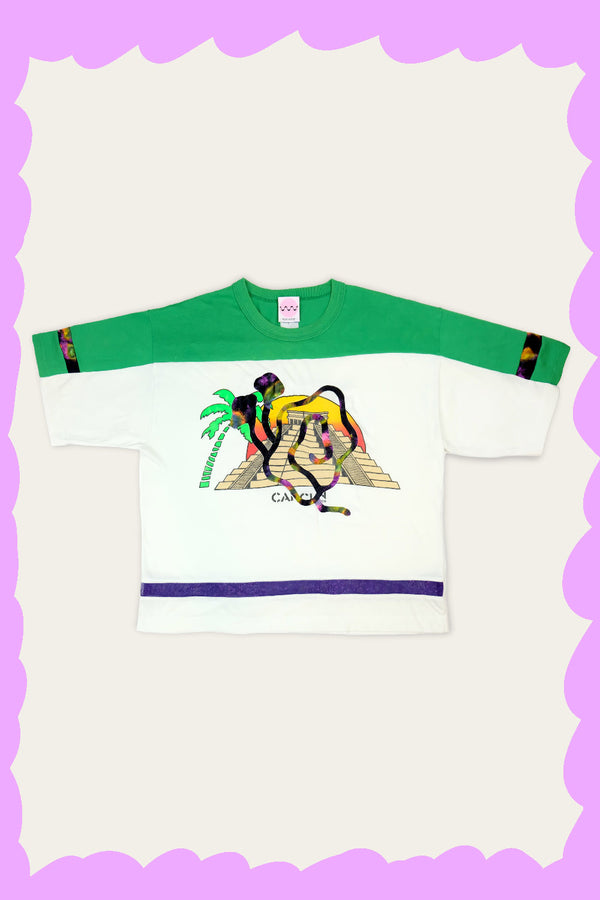 """CANCUN SNAIL"" Tee by FELIX HOUSE"