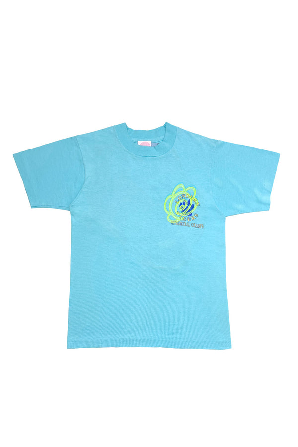 """Tiger Champions"" Tee (AQUA) By FELIX HOUSE"