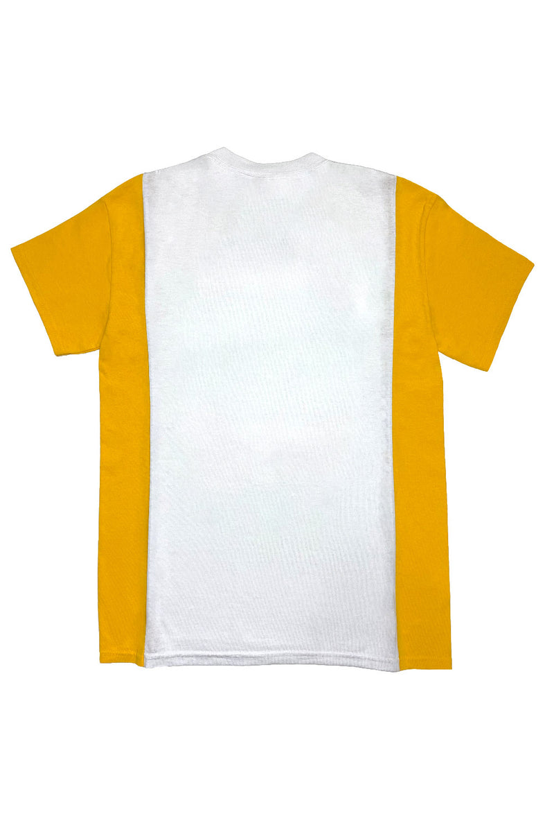 """Danbury Snail"" Tee (WHITE/MUSTARD) by FELIX HOUSE"