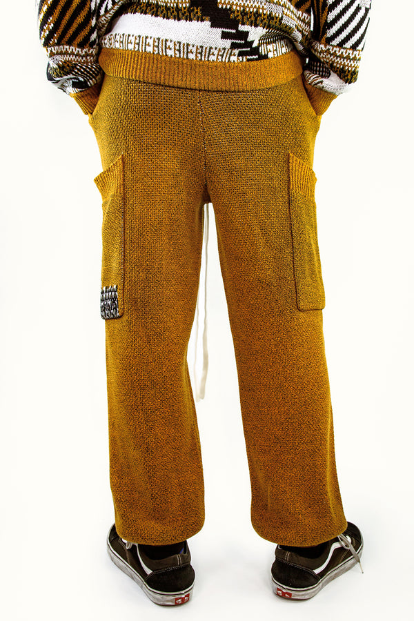 TKCXYY Glitch Sweatpant in Ochre