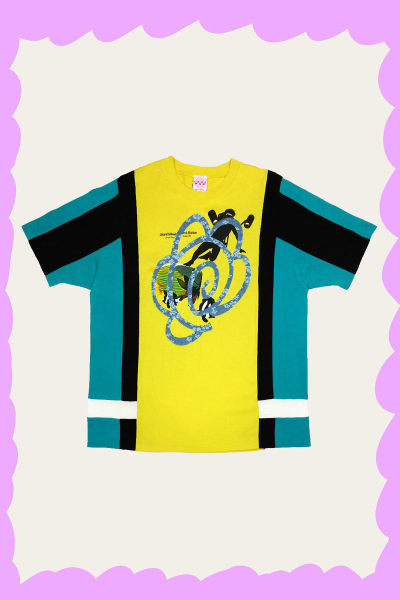 """LIZARD ISLAND"" Tee by FELIX HOUSE"