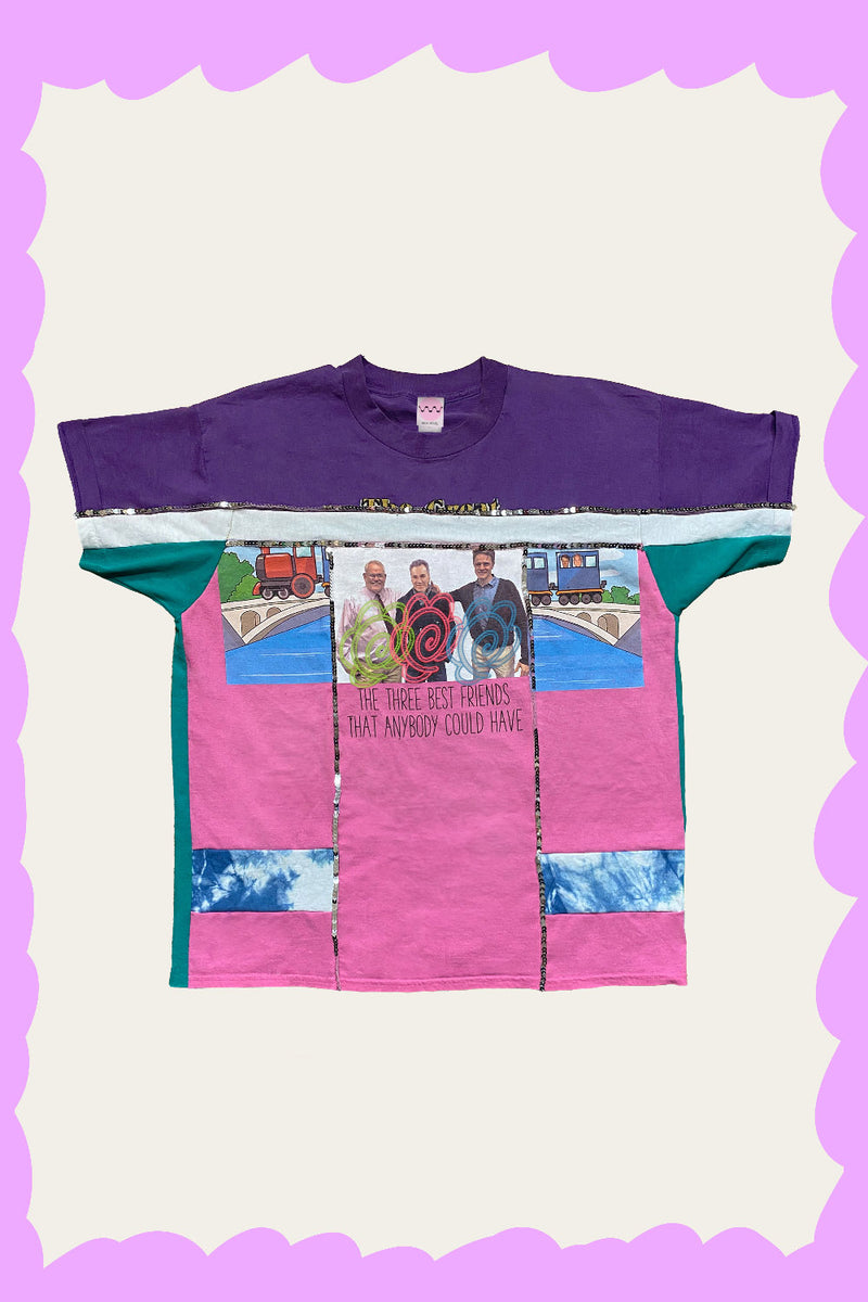 """OSSAN FRIENDS FOREVER"" Tee by FELIX HOUSE"