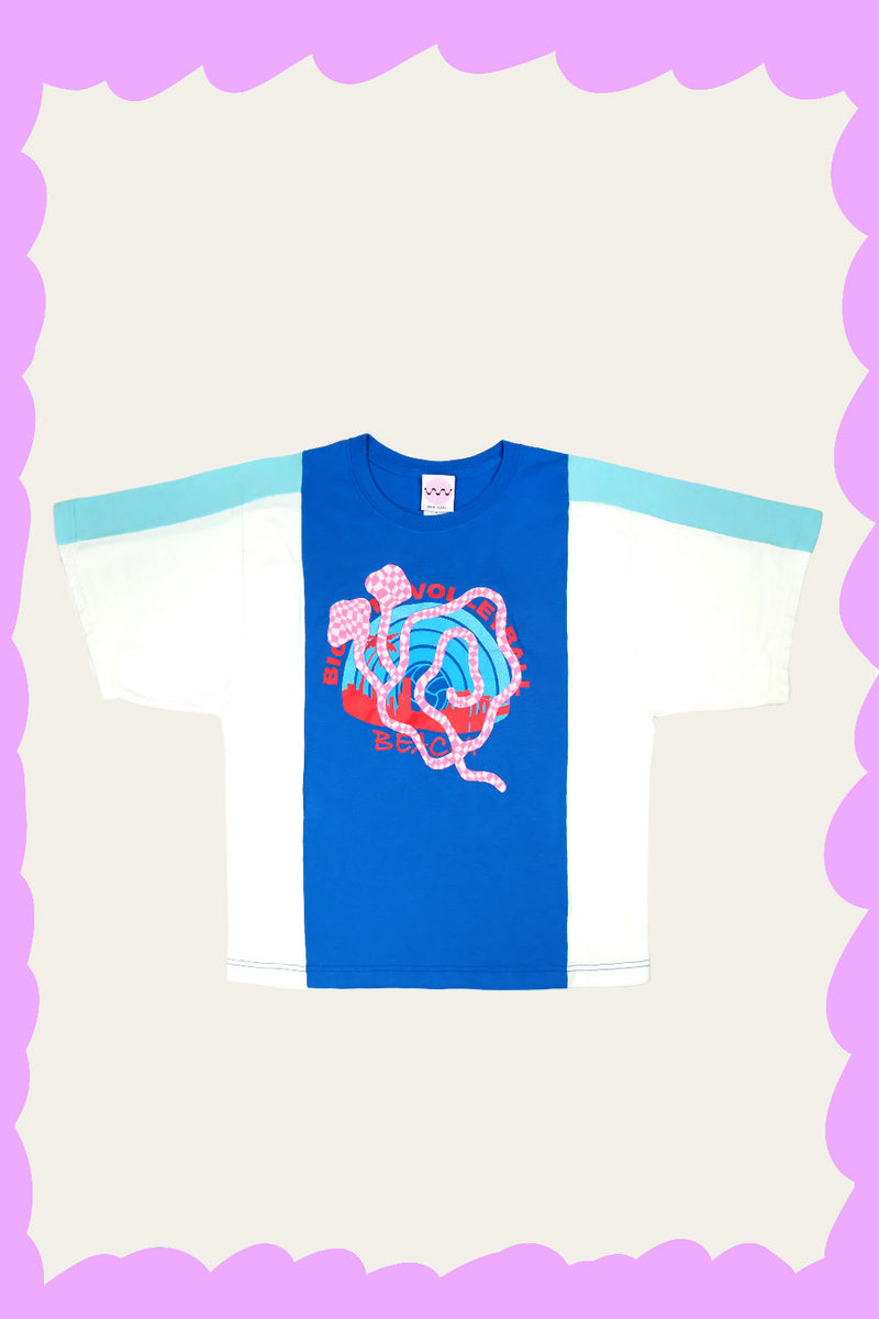 """SLOMO VOLLEYBALL"" Tee by FELIX HOUSE"
