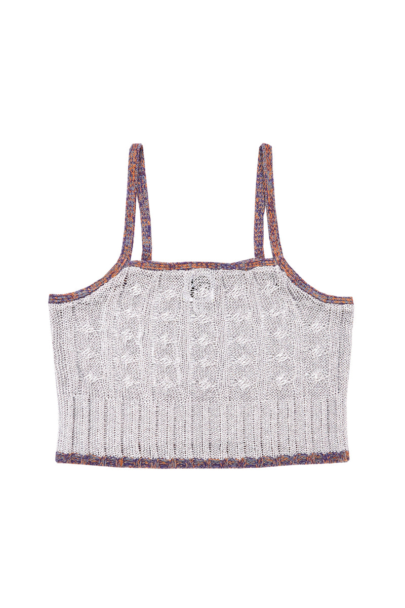 Mercury Cami in Silver *WAITLIST OPTION AVAILABLE*