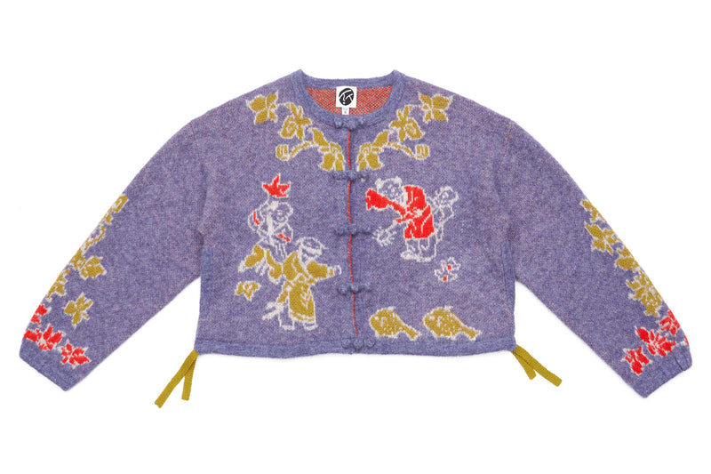 Laza Kungfu Jacket in Lavender