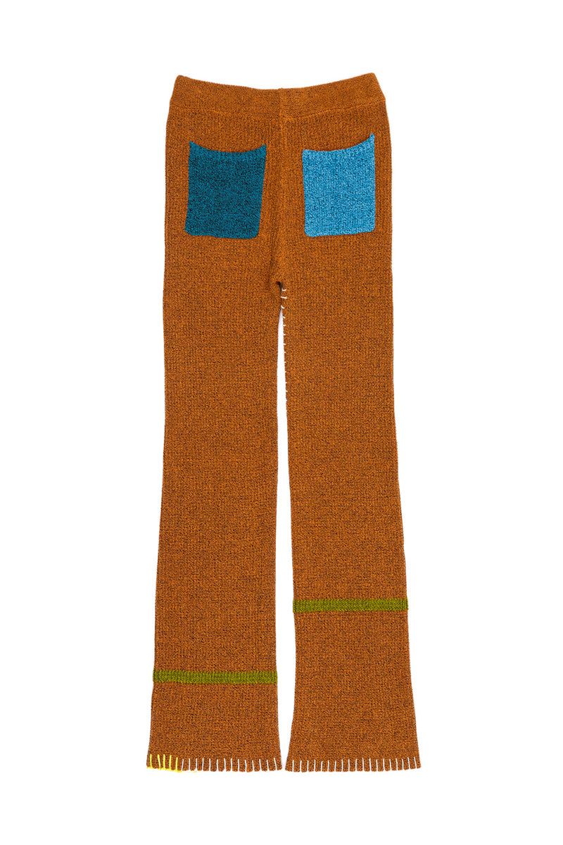 Tweedle Pant in Ochre Tweed