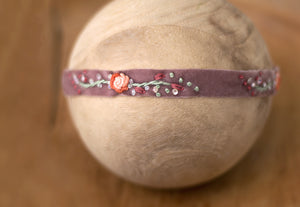 "Hattie Band in ""Dusty Plum"""