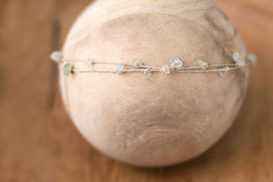"Double-Stranded Gemstone Band in ""Green Tea"""