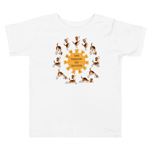 Yoga Time Toddler Tee's