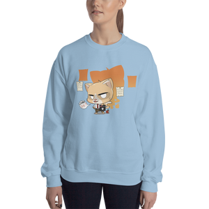 Cat Note Women's Sweatshirt